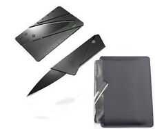 Survival Knife Outdoor Camping Tools Multi-function Pocket Credit Card Fold