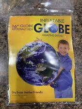 Jet Creations Inflatable Globe, 16� Astronaut View - Item #Gto-16Aeg
