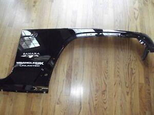 2007-2018 Jeep Wrangler Right passenger Side inner front Fender black OEM JK