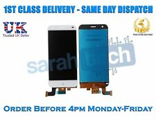 """NUOVO ZTE Blade S6 5.0"""" LCD Display Touch Screen Digitizer vetro Assemblea BIANCO"""