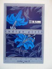 Indigo Girls F101 Fillmore Poster Pastiche