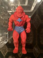 VINTAGE 1984 MASTERS OF THE UNIVERSE RUBBER TOY ERASER HE-MAN BEAST MAN RARE