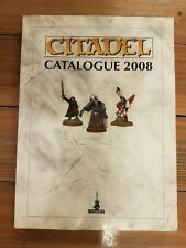 Warhammer 40K Fantasy Citadel Catalog 2008 Softcover
