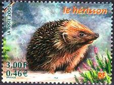 Y&T n° 3383  Faune Herisson  2001  NEUF **