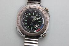 Mortima Super Calendar Herrenarmbanduhr Taucheruhr Handaufzug, 1960er Jahre