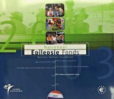 2003 Netherlands 8 Euro Coins Set Epilepsie Fonds Nederland Special Edition