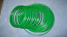 "1/4"" Pneumatic Polyethylene Tubing for Push IN Fittings Green 10 FT  PE0417-G"