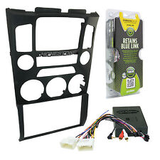 Genesis Coupe Car Stereo Double Din Radio Installation Dash Kit & Wires 95-7352B