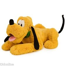 AUTHENTIC DISNEY PLUTO PLUSH DOLL DOG TOY 43cm L FROM MICKEY MOUSE CLUB HOUSE