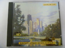 CARLIN DOCUMENTARY NEWS SCENIC  RARE LIBRARY SOUNDS MUSIC CD