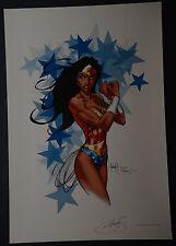 Wonder Woman Michael Turner Aspen Art Print