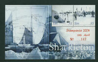 SHACKLETON  2004   DX233   STAMPANIA  EXHIBITION     MS  51  -  SCARCE