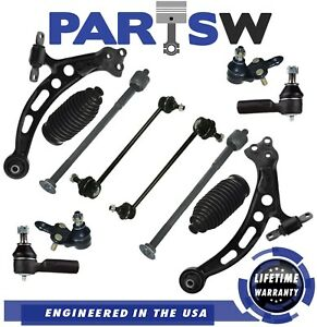 12 Pcs Front Lower LH RH Control Arm for Toyota Avalon 1997 with Ball Joints