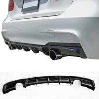 BMW F30 F31 sport performance 335i 340i carbon fibre rear bumper diffuser lip UK