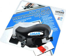LOGAN 5000 8-PLY PULL STYLE HANDHELD MAT MOUNT CUTTER BEVEL MOUNTING CUTTERS