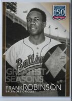 2019 Topps Series 2 Greatest Seasons Gold Parallel Frank Robinson GS-7  21/50