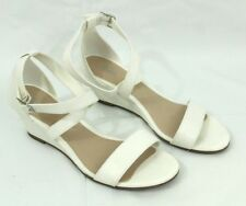 Women Princess Mid Wedge Sandal Crisscross Around Ankle Buckle 2 Inches Style