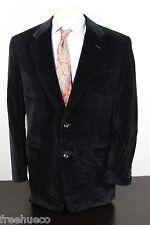 CANALI Proposta Black Velvet Sport Coat Blazer -Men's ~43 Long