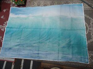 "IKEA PREMIAR Waves Ocean Surf Canvas wall poster 55 x78"" No Frame"