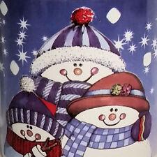 Smores Recipe Snowmen Caps Scarves Winter HH Mug Cup Coffee Tea Cocoa Smore