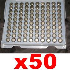 LR54 1,55V AG10 LR1130 PILE 50x BATTERIA BOTTONE PILA PER CALCOLATRICE BATTERIEk