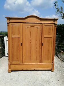 Pine Knock Down Triple Wardrobe Delivery & Assembly available
