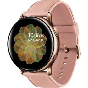 Samsung Galaxy Watch Active2 SM-R825 - 44MM - Gold Bluetooth + LTE Unlocked