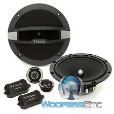 "FOCAL AUDITOR R-165S2 6.5"" 240W MAX COMPONENT SPEAKERS TWEETERS CROSSOVERS NEW"