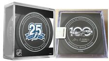 2017 2018 TAMPA BAY LIGHTNING PUCK 25TH ANNIVERSARY CUBE 100TH LOGO STANLEY CUP