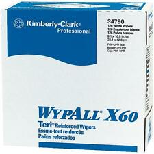 """20 Cases Wypall X60 Teri Wiper Paper Towels 9.1"""" x 16.8"""" 10 Boxes/Case KCC34790"""