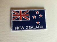 New Zealand Flag Iron On, Sew On, Stitch On, Glue On Flag Patch 8x5cm