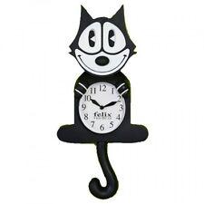 NJ Croce Felix The Cat Animated Wall Clock, New, Free Shipping