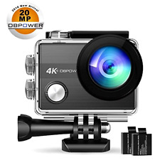 4K Action Camera DBPOWER N5S 20MP WiFi Ultra HD EIS Sports Underwater Camcorder
