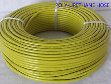 Engine Gas Fuel Oil Injection PU Line Tubing Tube Hose 5mm x 8mm@ 5 Mt YELLOW