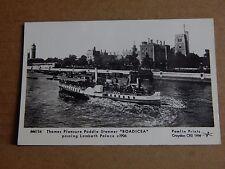 Postcard Paddle Steamer Boadicea 1983 1980's Pamlin Prints unposted XC4