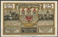 Notgeld Strasburg 1x 25 Pfennig 1921, Z.1-2