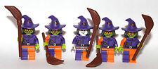 custom LEGO SCARE CROW + 4 HENCHMEN - all lego parts gotham city batman theme