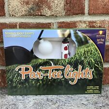 New Novelty Golf Ball And Bag Par-Tee String Lights Patio RV Deck Party 10 Light