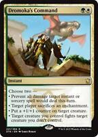DROMOKA'S COMMAND Dragons of Tarkir MTG Gold Instant Rare