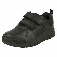 Boys Clarks Bumper Toe School Shoes - Scooter Speed