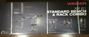 Weider XR 6.1 Multi-Position Weight Bench Press And Rack *SHIPS TODAY*