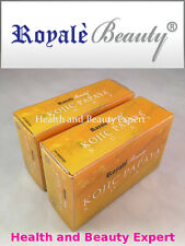 KOJIC PAPAYA SOAP X2 New Improved ROYALE Orange Scent SKIN WHITENING SOAP