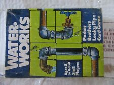 1976 Water Works Leak Pipe Card Game by Parker Brother, Double Cards and Wrenchs