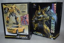 Weijiang Transformers Alloy Magnification MPM03 Bumblebee With Super Warhammer