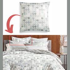 NEW Hotel Collection Seaglass Cotton Seafoam [ 1 ] European Pillow Sham #3299