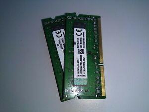 16 Go (2x8Go) Mémoire vive Kingston PC-12800 SODIMM 1.35 V