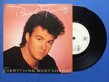 Paul Young - Everything Must Change / Give Me My Freedom, CBS A4972 Ex A1/B1