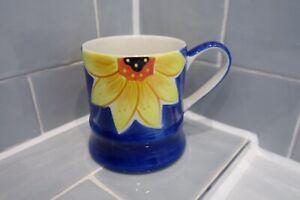 Whittard Of Chelsea - Blue Sunflower Mug