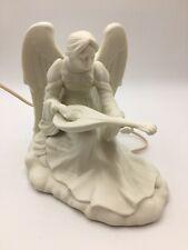 Night Light/Lamp Angel Figurine White Porcelain Bisque