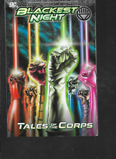 Blackest Night: Tales of the Corps by Gates, Tomasi & Johns 2011, TPB DC OOP